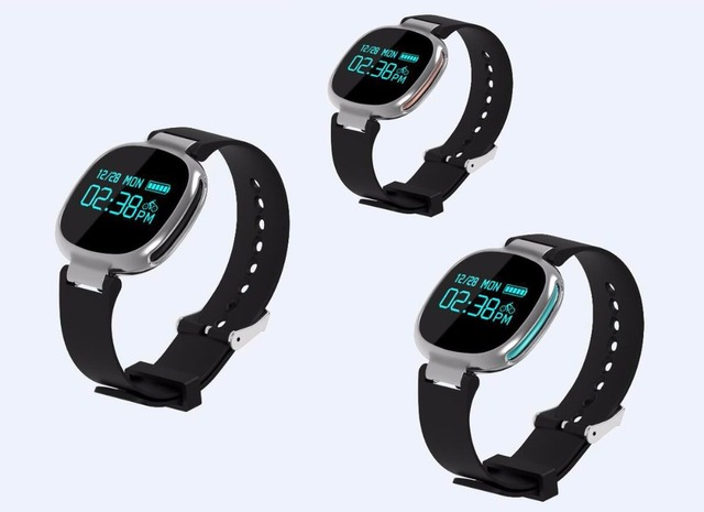 E08 Smart Wristband Waterproof Swimming Bluetooth 4.0 Smartband Health Heart Rate Monitor Smart Fitness Bracelet for iOS Android