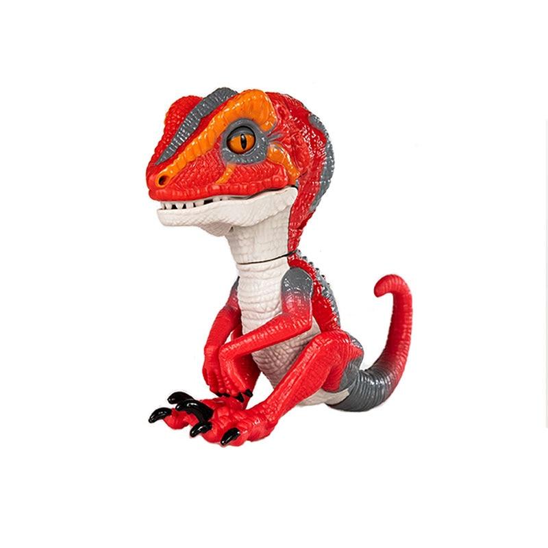 b382d38ad3 Comprar Ponta do dedo Azul Dinossauro Brinquedos Interativos Domesticados  Raptor Bruce Muti Func Brinquedo Eletrônico Pet Brinquedos de Dinossauros  para ...