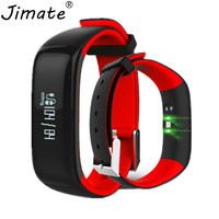 P1 IP67 Waterproof Smartband Blood Pressure Bluetooth Smart Bracelet Wearable Heart Rate Monitor Wristband for Android IOS Phone