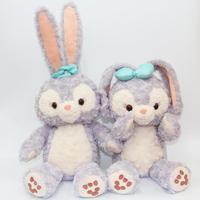 Large Hot Cartoon Stellalou Bunny Rabbit Plush Toys Friend of Duffy Bear Soft Big Stuffed Animal Dolls For Children Girls Gifts
