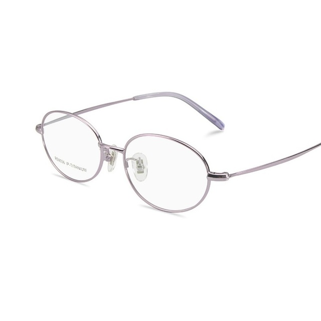71cf26c6a6ce width -135 Ultra light pure titanium glasses computer goggles full frame  female eyeglasses spectacles frames for women eyewear