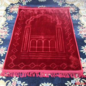 Image 4 - גדול לעבות גדול אסלאמי מוסלמי תפילת מחצלת סאלאט Musallah תפילת שטיח Tapis שטיח Tapete Banheiro האסלאמי מחצלת המכירה 80*125cm
