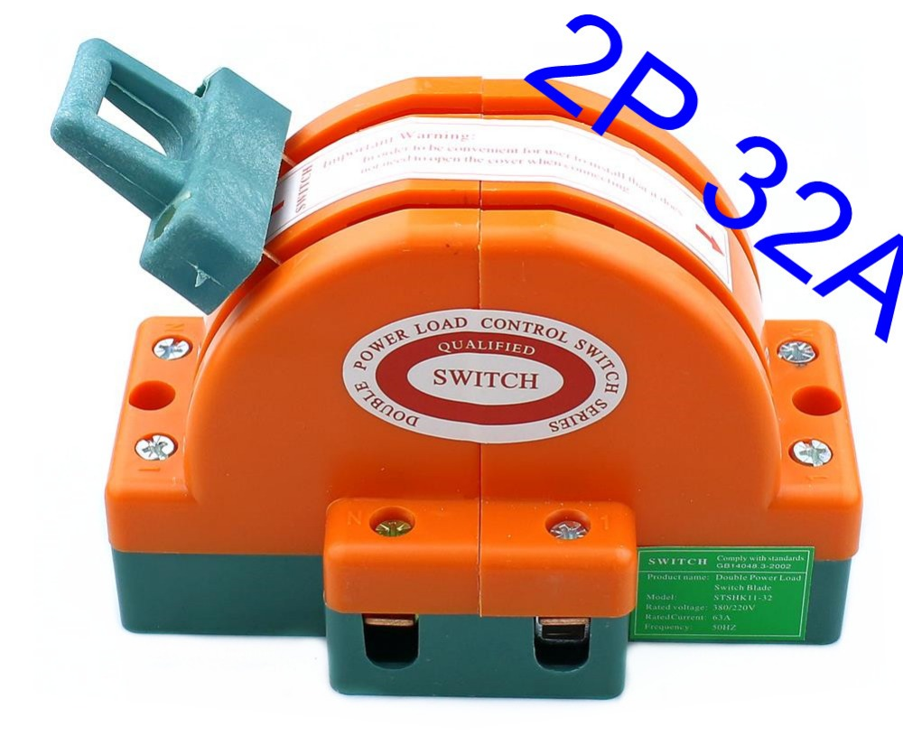 30a 220v Two Pole Double Throw Knife Disconnect Switch