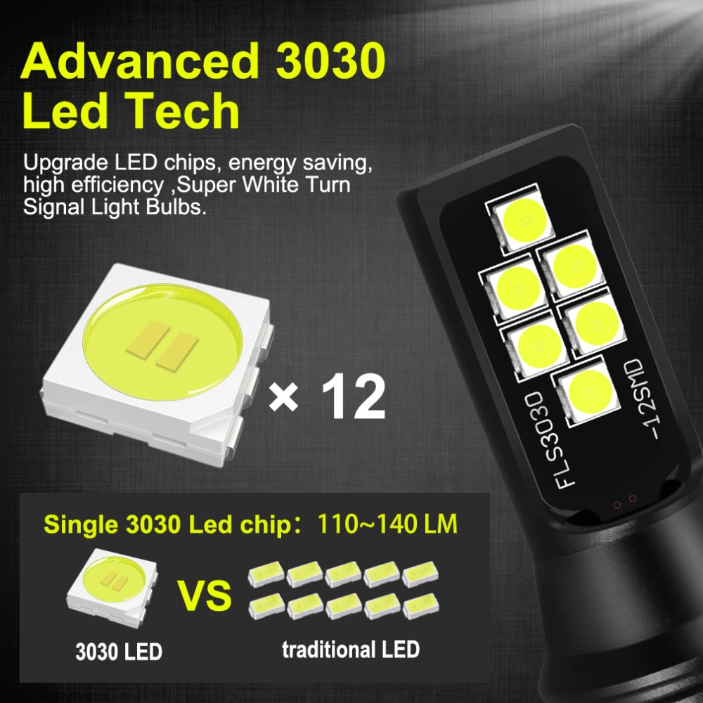 Image 2 - 2pcs 1400LM H7 H8 H11 HB3 9005 HB4 9006 LED Bulbs Car Lights 6000K White Replacement for Driving Lamp Automotive H7 LED 12V 24V-in Car Fog Lamp from Automobiles & Motorcycles