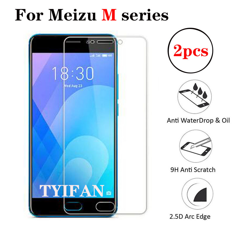 2pcs Tempered Glass for Meizu M6s M5s M3s Protective Glas Screen Protector on Maisie S6 S5 S3 M 3s 5s 6s 3 5 6 M3 M5 M6 S Safety image