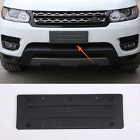 Car Accessories ABS For Rang Rover Sport 2014 2017 Front And Rear License Plate Frames Are Decorated 1 pcs