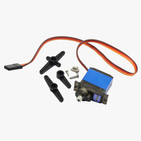 Hobbypower MG92B 13 8g Metall Getriebe RC Digital Servo 3 5 KG Drehmoment Doppel Kugellager|Teile & Zubehör|   -