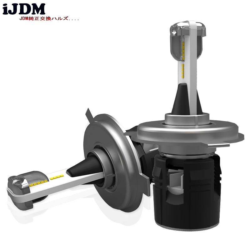 iJDM Car Headlight H7 H4 LED H8/H11 HB3/9005 HB4/9006 H1 H3 9012 H13 9004 9007 Auto Bulb Headlamp 12V 6000K CSP LED Chips Light jgaut s2 12v car headlight h4 led h7 h1 h3 h11 h13 hb2 hb4 hb5 9004 9005 9006 9007 72w 8000lm auto headlamp 6500k light bulb