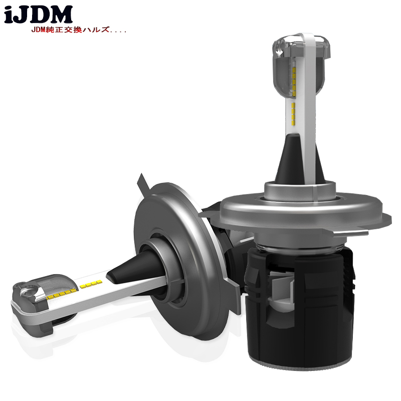 iJDM Car Headlight H7 H4 LED H8/H11 HB3/9005 HB4/9006 H1 H3 9012 H13 9004 9007 Auto Bulb Headlamp 12V 6000K CSP LED Chips Light