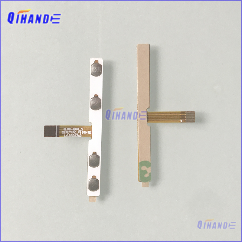 1pcs New Touch Cable Replacement Parts Power On/Off Key/Volume Side Button Flex Cable Tablet Pc Cable ELINK-Q106_S LXLD5347A2