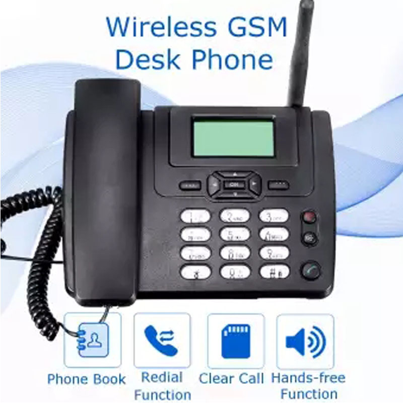 GSM 900/1800MHz Support SIM Card Fixed Phone With FM Radio Call ID Handfree Landline Phone Fixed Wireless Telephone Home Black занавес светодиодный уличный 300см белый ul 00001356 uld c2030 240 twk white ip67 page 8