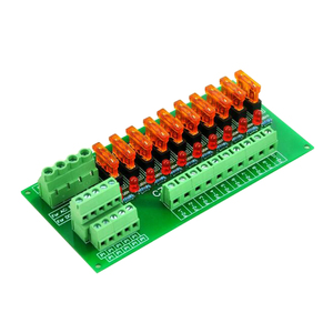 Image 4 - Plattenmontage 10 Position Power Distribution Fuse Modul Bord, für AC/DC 5 ~ 32 V.