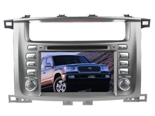 WINCE 6.0 CAR DVD PLAYER FIT FOR Toyota Land Cruiser/ Landcruiser 100/ LC100 Car Audio Multimedia player GPS Navi Ipod Radio