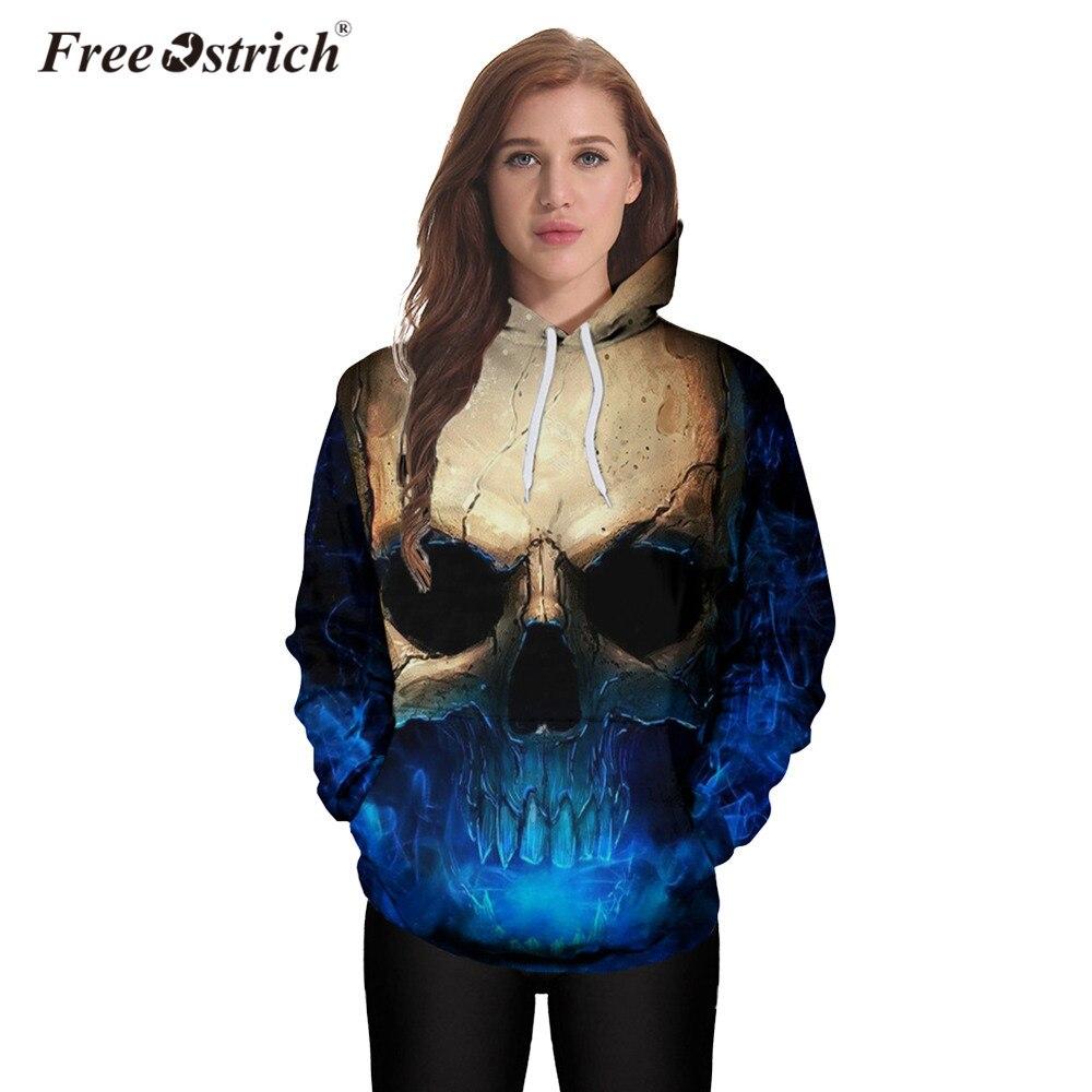 Free Ostrich Hoodies Sweatshirt 3D Print Women Men Autumn Sweatshirt Long Sleeve Harajuku Sudadera Mujer Tracksuits A0835