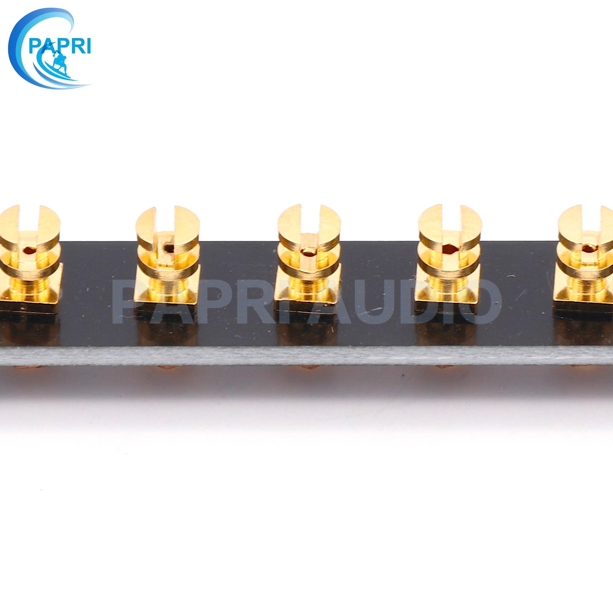 Copper sheet FR4 Black bakelite Tag Board 36 Lug Hifi Diy parts