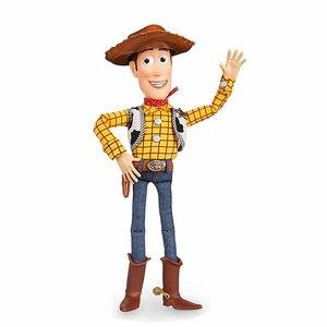 Image 2 - Disney Pixar juguete historia 3 4 hablando Woody Jessie figuras de acción cuerpo de tela muñeca modelo colección limitada juguetes regalos para los niños 40C