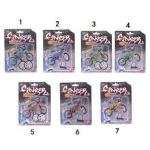 10,5 см* 7 см мини Finger BMX велосипед Флик Трикс Finger Bikes игрушки BMX модель велосипеда Tech Deck гаджеты Новинка кляп игрушки