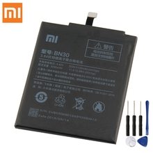 Xiao mi оригинальный сменный аккумулятор BN30 для Xiaomi mi Redrice Hong mi Red mi 4A 100% новый аутентичный аккумулятор для телефона 3120 мАч