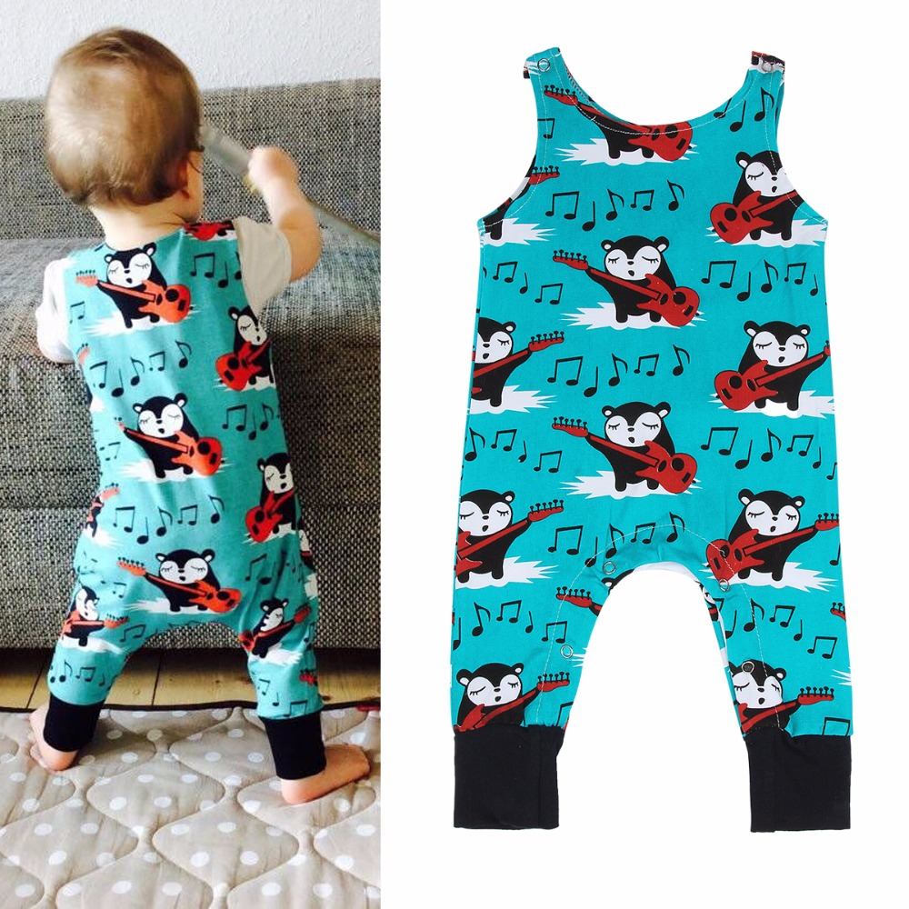 2017 Newborn Baby Girls Boys Clothing Romper Sleeveless Cute Animal Jumpsuit Kids Baby Girl Clothes Outfit Summer 0-24M newborn infant baby boys girls kids clothing cotton romper jumpsuit colorful warm zipper rompers baby girl clothes outfit