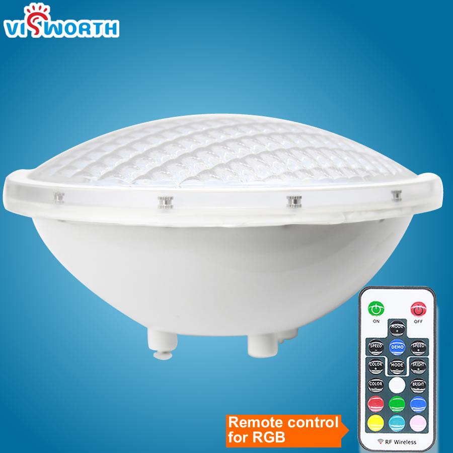 PAR56 LED Swimming Pool Light 24W 36W SMD5730 90pcs Leds Spa Lights AC/DC 12V Fountain Lamp IP68 100% Waterproof Underwater Lamp
