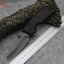 Super Quality DA20 Folding Blade Knife 3CR13MOV Facas Camping edc Tool 55HRC Aluminum Handle Tactical Knives