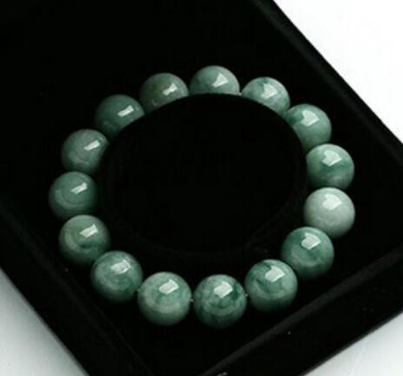 Free shipping Chinese Super 100% A Grade Natural /Jadeite Perfect Beads Bracelet 3PC Boutique jewelry bracelet