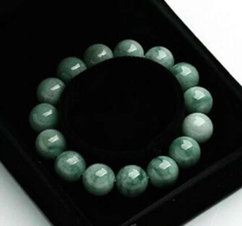 จัดส่งฟรีจีน Super 100% เกรด A ธรรมชาติ/Jadeite Perfect สร้อยข้อมือลูกปัด 3PC Boutique เครื่องประดับสร้อยข้อมือ
