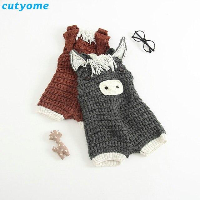 для новорожденных хлопок комбинезоны для малышек вязание крючком