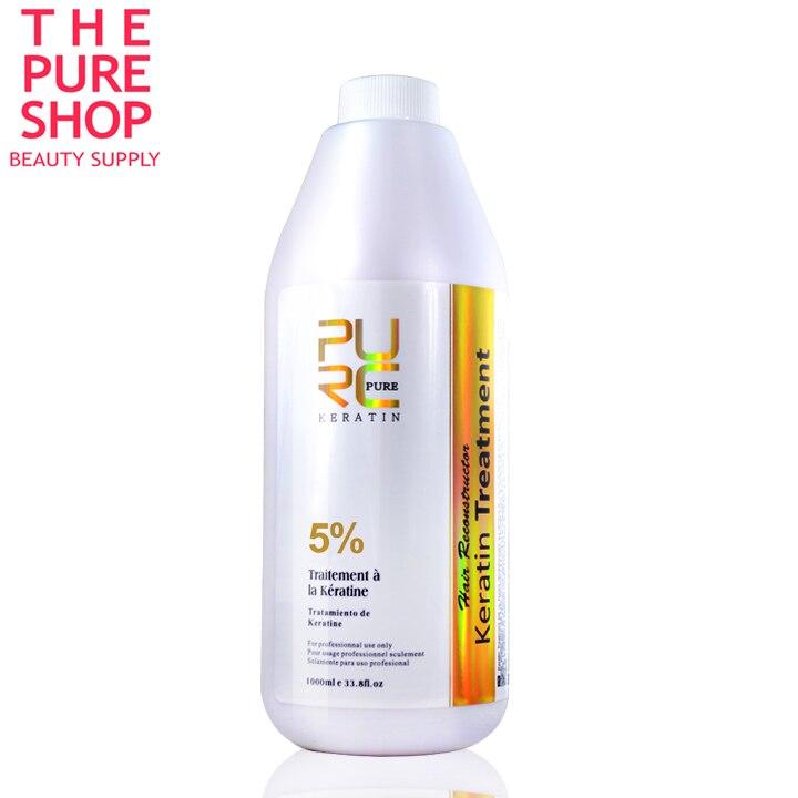 Brésilien kératine traitement des cheveux 5% formol kératine gros produits de soins capillaires défrisage kératine livraison gratuite