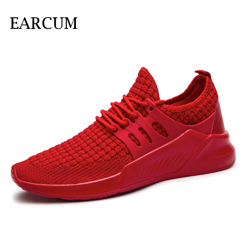 Breathable Sneakers Summer Fashion Lightweight Shoes Men Anti-slip Casual Shoes Mens 2018 Autumn Outdoor Trainers Footwear 2018 summer new men shoes breathable mesh sneakers outdoor mens shoes casual male anti slip trainers man plus size footwear