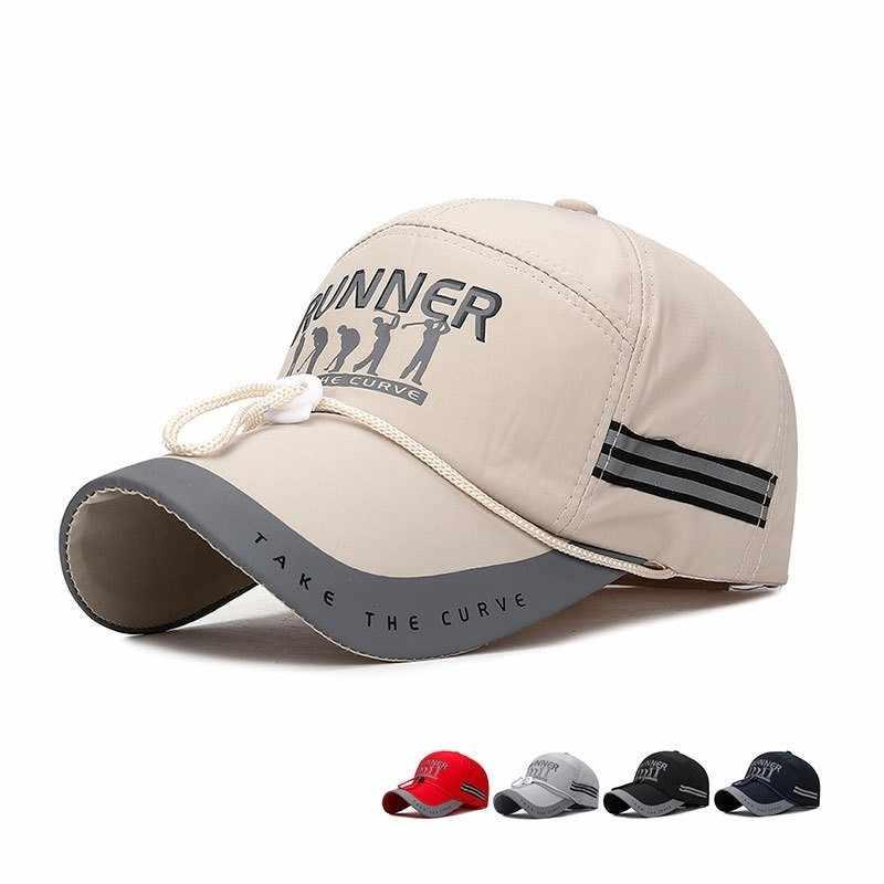 eb61b511c RoxCober Cotton Mesh breathable baseball cap outdoor Sport Snapback ...