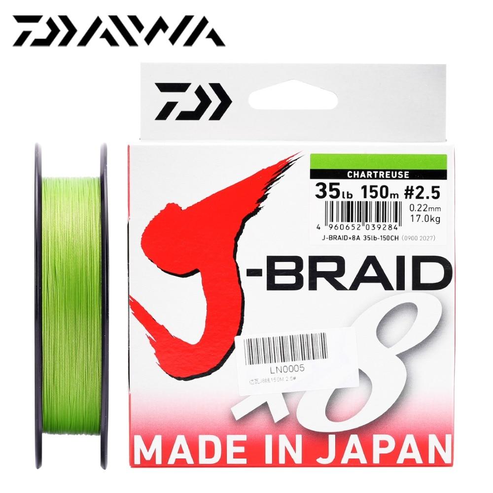 100% Original SHIMANO PITBULL X8 X12 Braided Fishing Line PE 150M ...