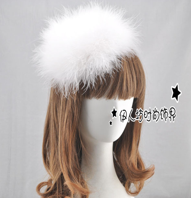 2016 chapéus de noiva Real imagem Sexy forma das mulheres chapéu chegam novas barato Modest Sexy chapéus para senhoras do partido cabelo chapéu - Fascinators