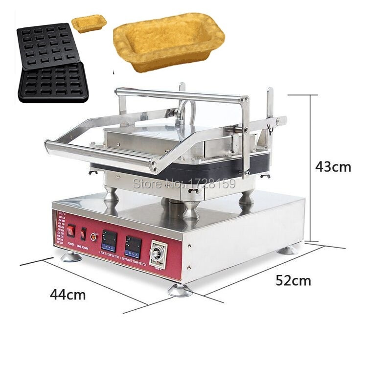 Hot sale popular snack  tartlet shell baking machine, egg cheese tart forming machine new hot sale tartlet bakon machine price bakon tartlet machine for sale