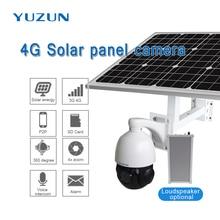 3g 4g solar powered  ip camera with sim card 360 degree outdoor security camera wireless surveillance camera