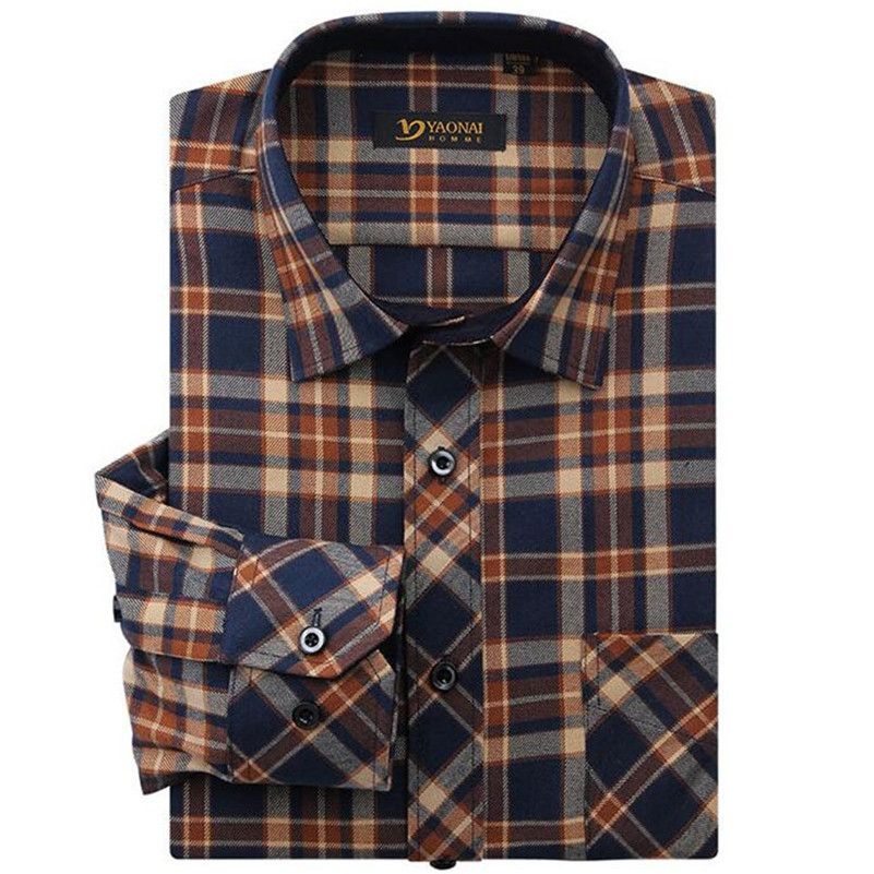 Popular flannel shirt men buy cheap flannel shirt men lots for Types of flannel shirts