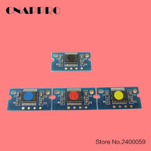 Compatible Konica Minolta Bizhub C203 reset toner chip TN213 copier cartridge chip KMCY/set 4pcs/set
