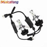2x 50W 8000LM 2016 Plug Play Led H4 6s Car Headlight Bulb For Philips Lamp Beads