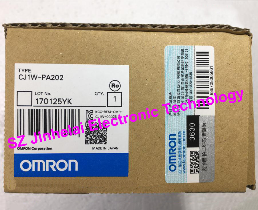 OMRON Power module CJ1W-PA202 New and original new original proximity switch fi2 km08 on6l