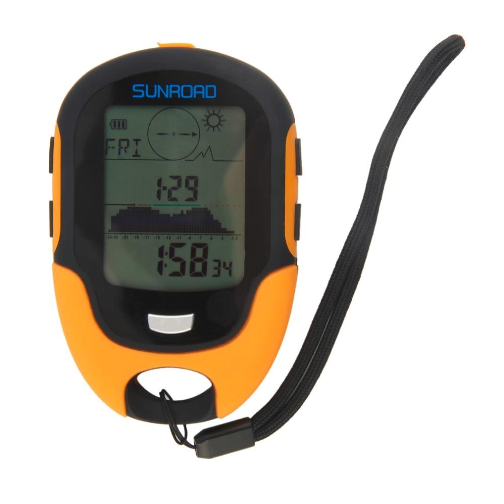 Dropshipping Multifunctional FR500 Portable Digital Altimeter Waterproof LCD Screen Display Outdoor Use Barometer Device