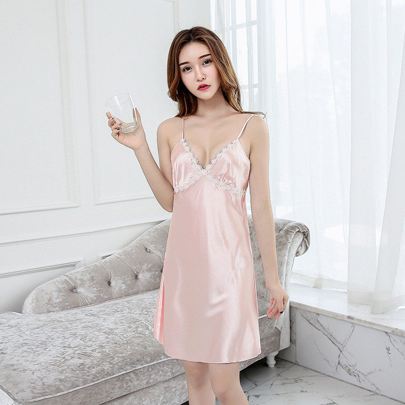 9270957453 Detail Feedback Questions about Summer Sexy Women Satin Robe Lady ...