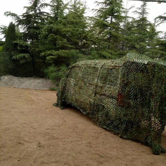 2m*3m sun shelter Hunting Military Camouflage Net Woodland Army Camo netting Camping Sun ShelterTent Shade Tactical accessories