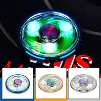 Do Dower EDC Hand Spinner Luminous Fidget Spinner High Speed Spining Toy Anti Stress Finger Spiner