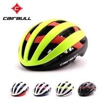 CAIRBULL Professional Road Cycling Helmet 5 Colors Ultralight Carbon Fiber Road Bike Helmet Men Bicycle Helmet Casque Velo Route