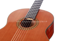 Professional 34 36 Inch Acoustic Classical Guitar With Solid Cedar Top Magogany Body For Traveling Guitar