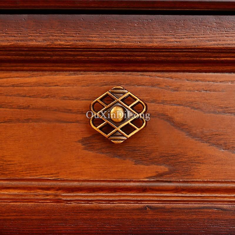 Brand New 2PCS Furniture Handles European Style Zinc Alloy Drawer Wardrobe Cupboard Kitchen Cabinet Door Pulls Handles Knobs in Cabinet Pulls from Home Improvement
