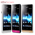ST23 Original Sony Xperia miro ST23i Android Phone 3.5 TouchScreen 3G GPS WiFi 5MP Unlocked Refurbished Cell Phone Free shipping