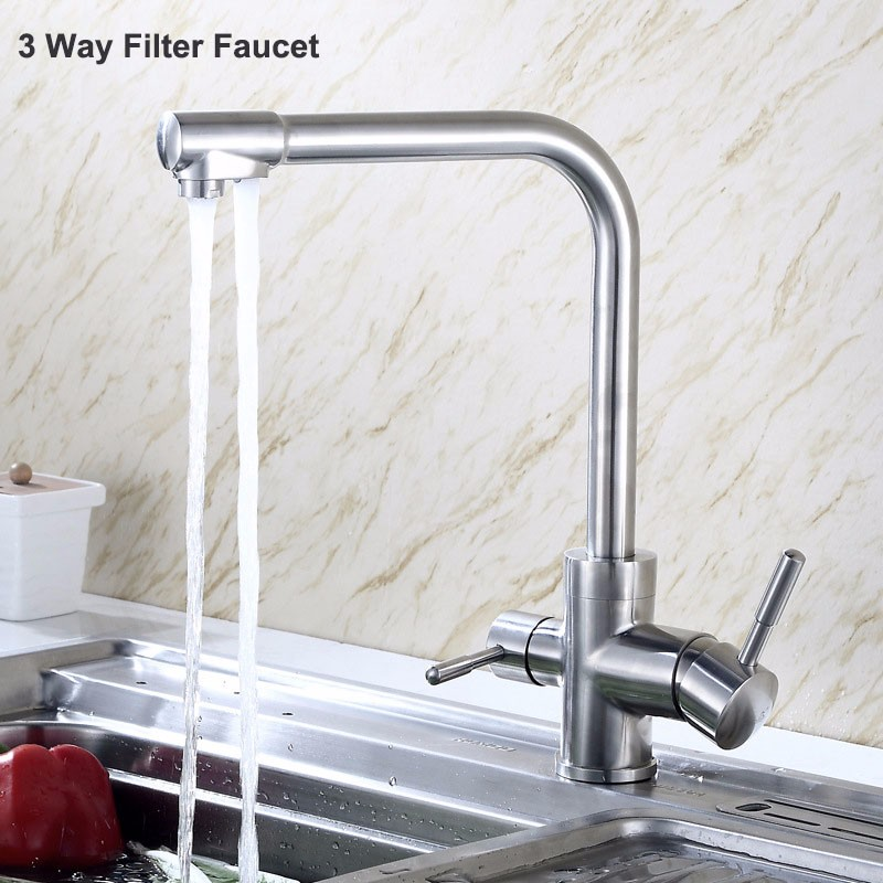 Stainless steel 3 way filter faucet (4)