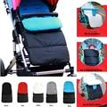 1 cochecito de bebé impermeable bolsa de dormir otoño para bebé invierno cálido cochecito recién nacido saco (5 colores)
