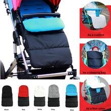 Sac de couchage imperméable pour poussette de bébé, sac chaud pour nouveau-né (5 couleurs), pour l'automne et l'hiver, 1 pièce